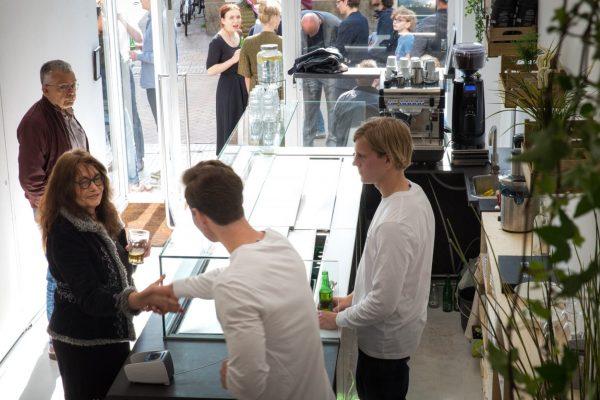 Winkelopening Rå - økologisk salatbar