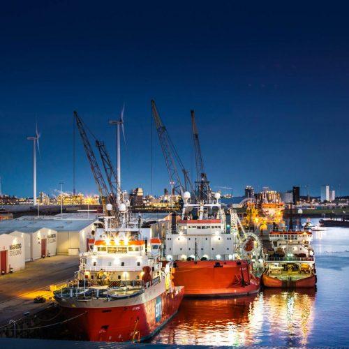 Zakelijke Fotoshoot - Haven Seaports Delfzijl