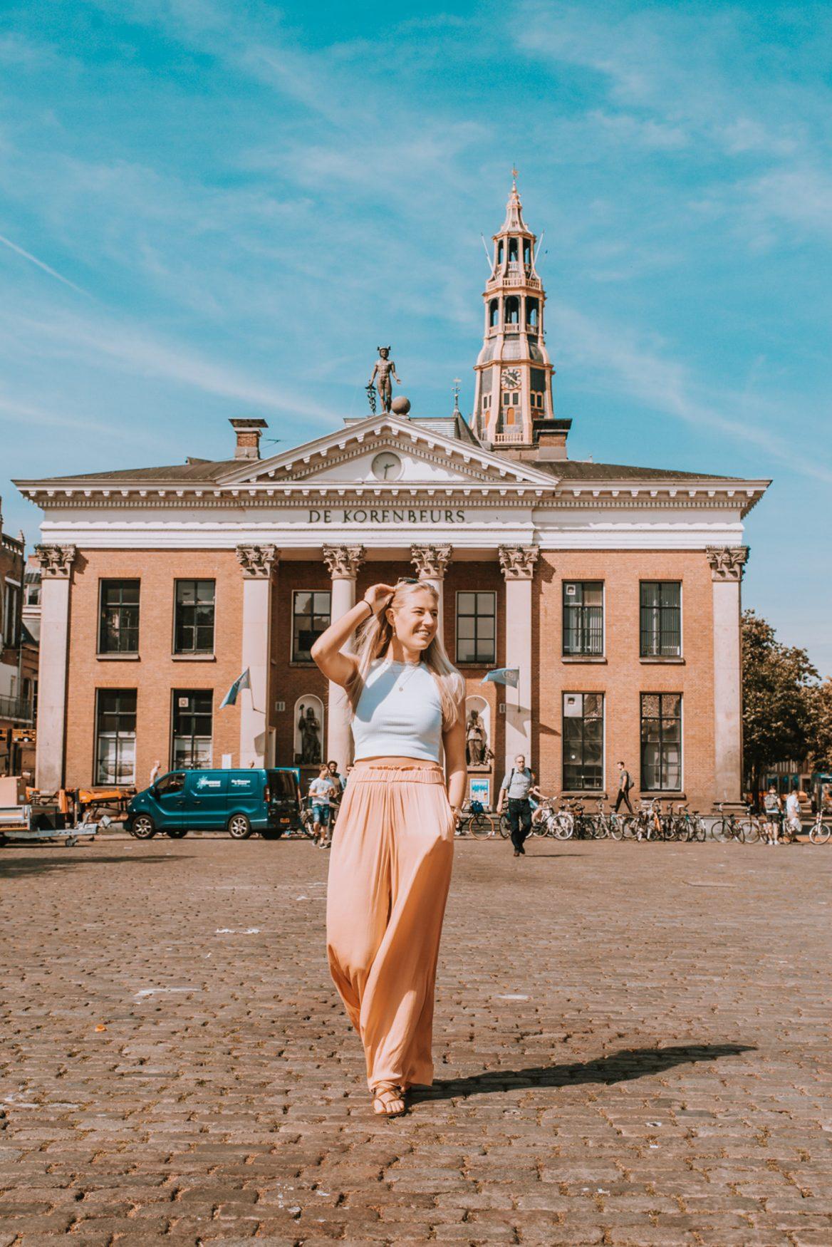 Instagram Citytour - Korenbeurs, Vismarkt Groningen