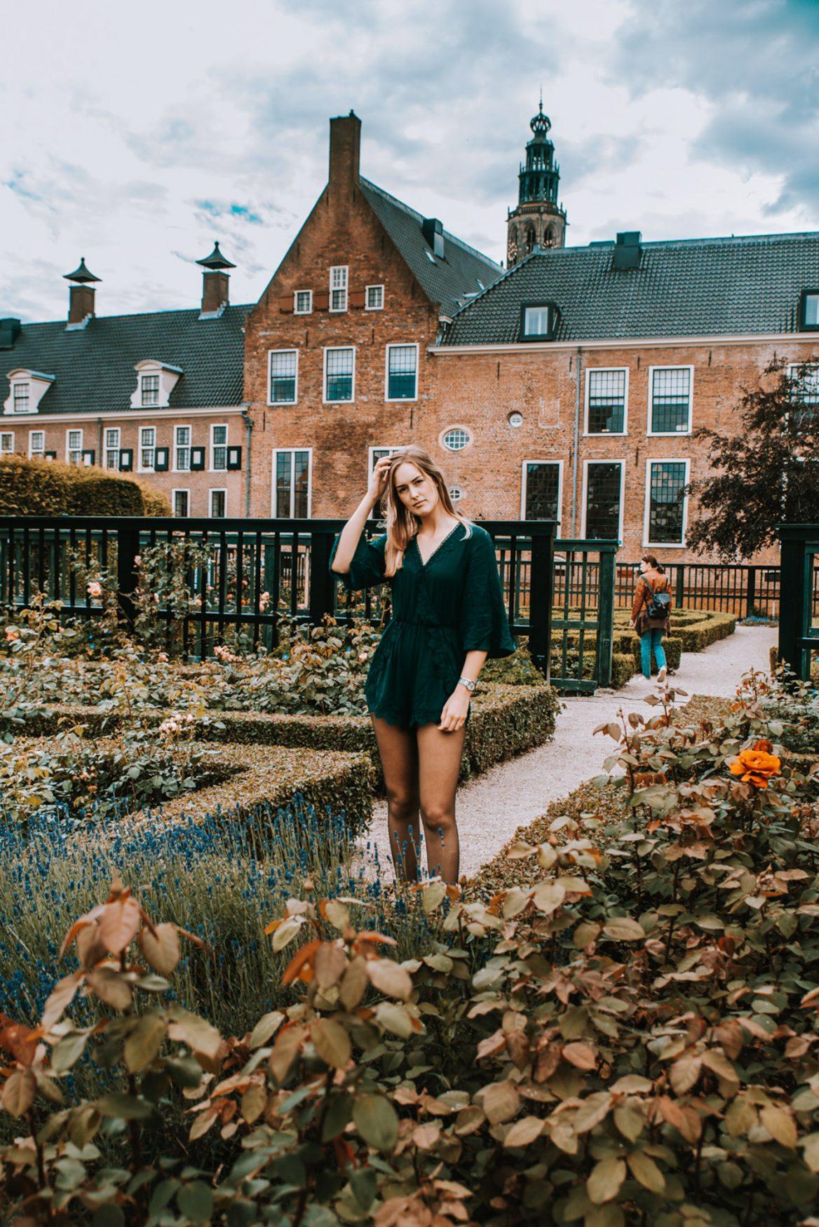 Instagram citytour - Prinsentuin Groningen