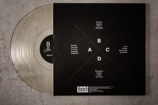 Productfotografie Vinyl plaat Vision Records