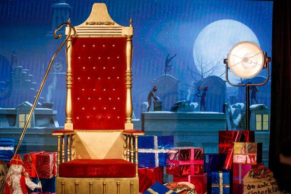 Livestream met Sinterklaas en zijn Pieten